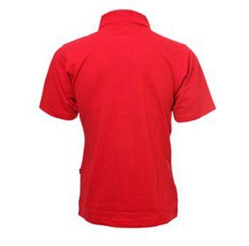 Мъжка Тениска MORE MILE Short Sleeve Mens Polo Shirt 508500  MMSSPOLOMRED изображение 2