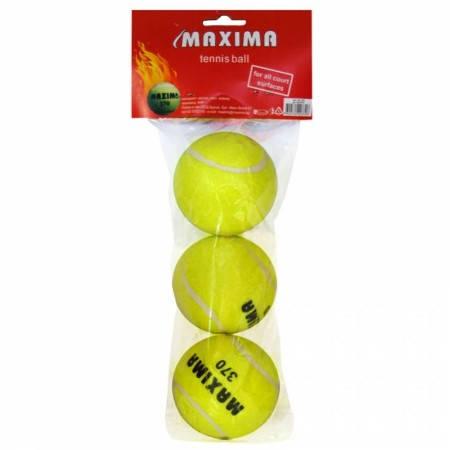 Тенис Топки MAXIMA Tennis Balls 3 Pcs 502123 200370