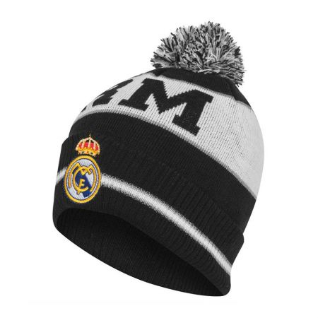 Зимна Шапка REAL MADRID Cuff Bobble Knitted Hat 508926