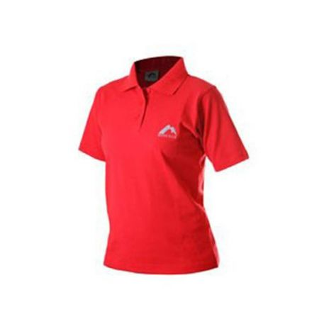 Дамска Тениска MORE MILE Short Sleeve Ladies Polo Shirt 508673