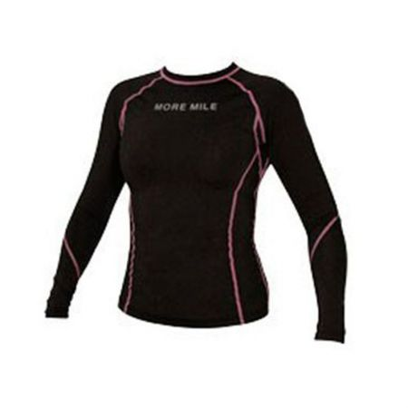 Дамска Блуза MORE MILE Seal Long Sleeve Ladies Compression Top 508684