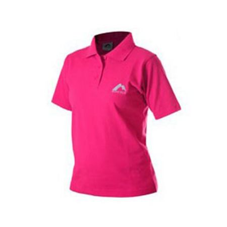 Дамска Тениска MORE MILE Short Sleeve Ladies Polo Shirt 508806 MMSSPOLOWPNK