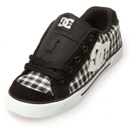 Детски Кецове DC Chelsea TX SP Low-Top Shoes 503657 DC 00008 BLK&WHT изображение 3