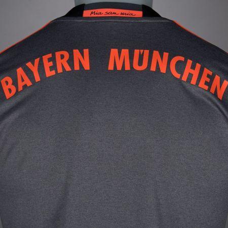 Официална Фланелка Байерн Мюнхен BAYERN MUNICH Mens Away Shirt 16-17 504137  изображение 5