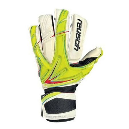 Вратарски Ръкавици REUSCH Keon Deluxe G1 401110 KEON DELUXE G1 LIME GREEN/WH/3170905-501