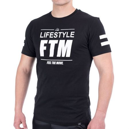Мъжка Тениска FLAIR Lifestyle FTM Label T-Shirt 515177 176156