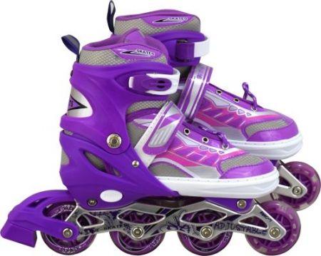 Дамски Регулируеми Ролери MAXIMA Adjustable Rollers 512129 200107-Purple