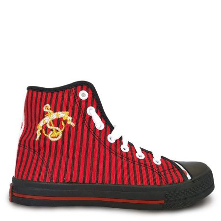 Дамски Кецове GUGGEN COAST Trampki High Stripes 510940 Trampki High Stripes