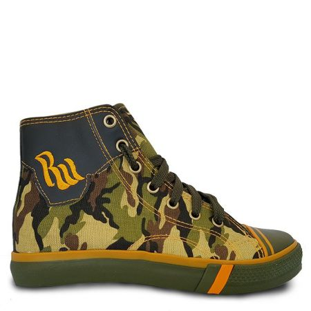 Детски Кецове GUGGEN COAST Trampki High Military Camo 510937 Trampki High Military Camo