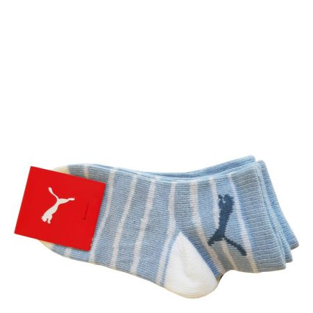 Бебешки Чорапи PUMA Socks 2 Pack Powder Blue 513989 293372-352