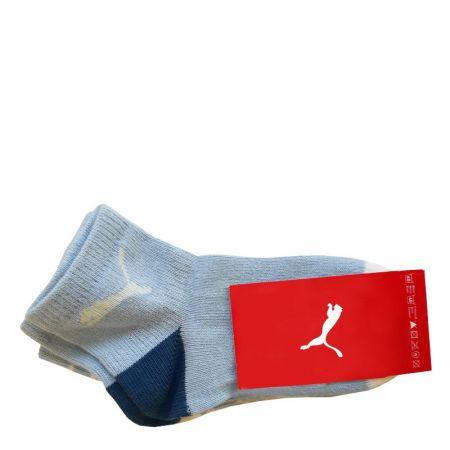 Бебешки Чорапи PUMA Socks 2 Pack Powder Blue 513989 293372-352 изображение 2