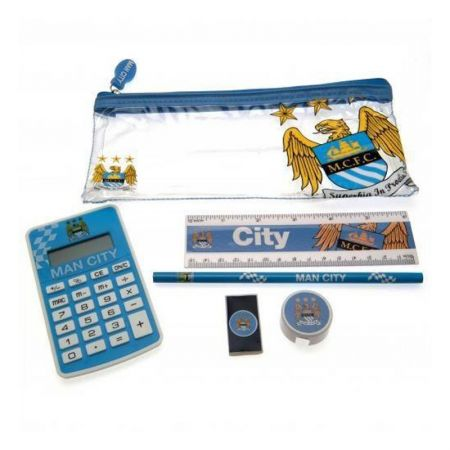 Ученически Пособия MANCHESTER CITY Exam Set 501088 d20examc-11047