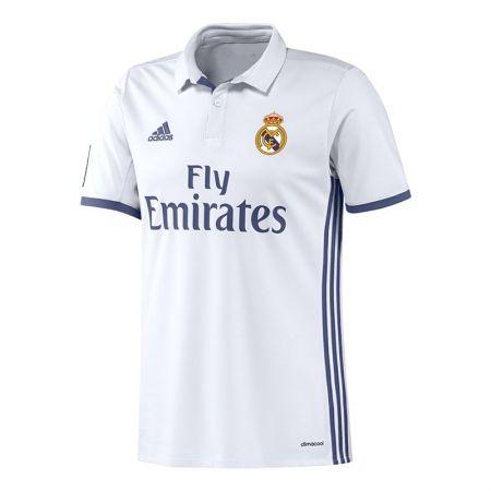 Официална Фланелка Реал Мадрид REAL MADRID Mens Home Shirt 16-17 504154