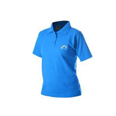 Дамска Тениска MORE MILE Short Sleeve Ladies Polo Shirt 508808 MMSSPOLOWBLU
