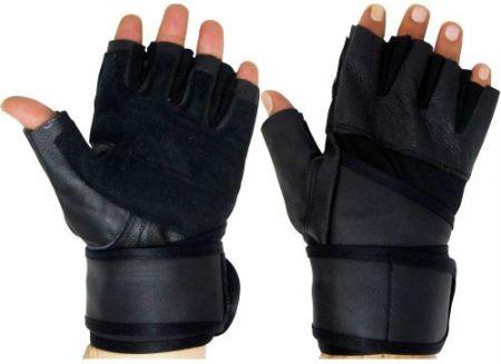 Ръкавици За Фитнес MAXIMA Leather Fitness Gloves 503002 400521 изображение 2