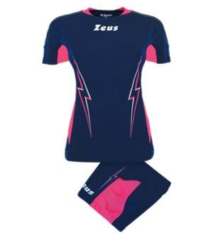 Дамски Волейболен Екип ZEUS Kit Volley Donna Tuono 0120 506092 Kit Volley Donna Tuono