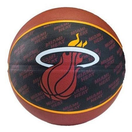 Баскетболна Топка SPALDING 2013 NBA Team Rubber Basketball 400974