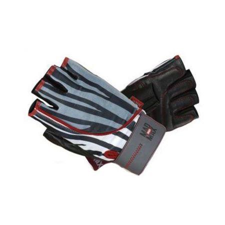 Ръкавици За Фитнес MAD MAX Nine Eleven Zebra 507987
