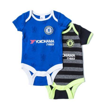 Бебешки Дрехи CHELSEA 2 Pack Bodysuit  509608 14345-w60bdschlnf