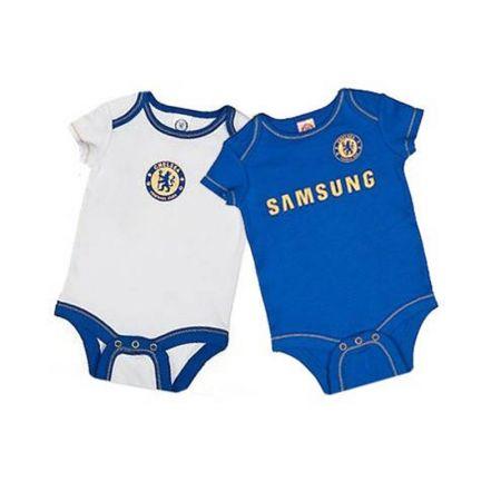 Бебешки Дрехи CHELSEA 2 Pack Bodysuit 500538