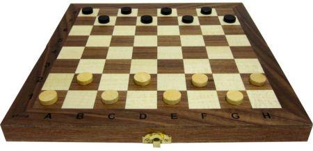 Дървен Шах/Табла MAXIMA Wooden Chess/Backgammon 35 Cm 503017 270768 изображение 2