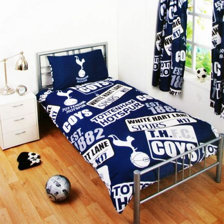 Спално Бельо TOTTENHAM HOTSPUR Single Duvet Set PT
