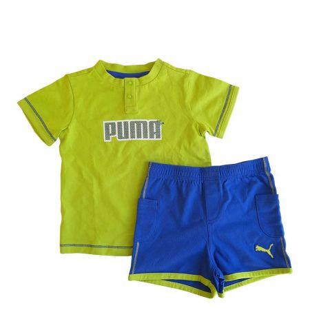 Бебешки Спортен Екип PUMA Basic Boys Set 513961 815248-01