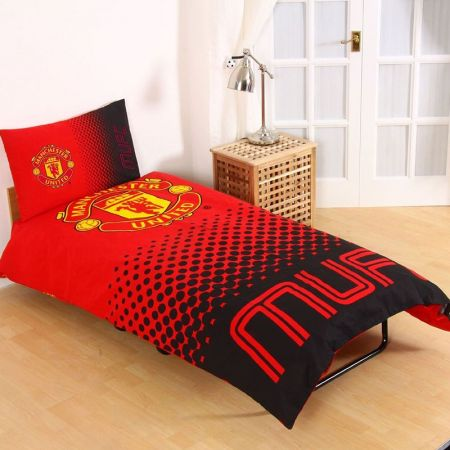 Спално Бельо MANCHESTER UNITED Reversible Single Duvet Set FA 507040 13630