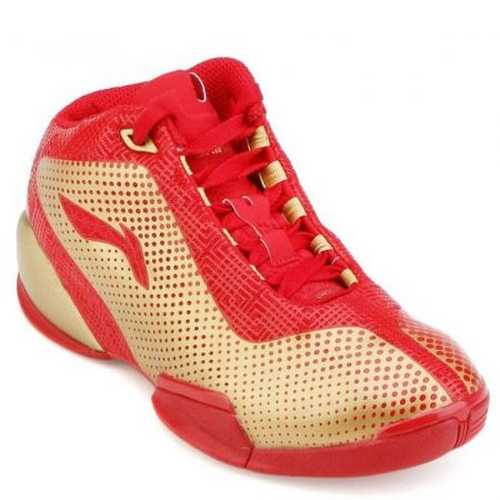 Мъжки Баскетболни Обувки LI-NING Basketball Shoes Red 100585