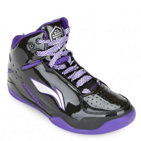 Мъжки Баскетболни Обувки LI-NING Basketball Shoes Violet 100584