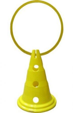 Конус С Дупки MAXIMA Cone With Holes 52 Cm/Ø25 Mm 503185 200874-Yellow изображение 2