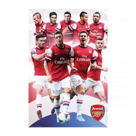 Плакат ARSENAL Poster Players 18 500961a