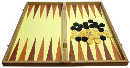 Дървен Шах/Табла MAXIMA Wooden Chess/Backgammon 39 Cm 503018 270772 изображение 2