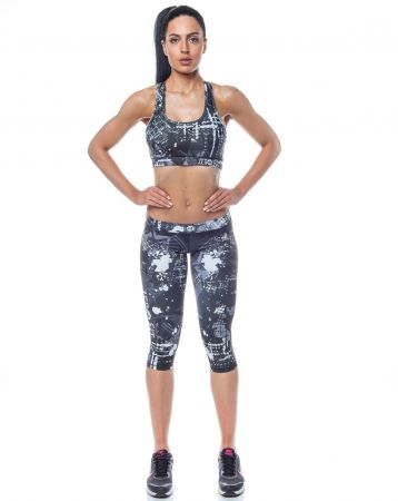 Дамски Клин ZERO FIT Short Training Tights Action 503996 38 изображение 4