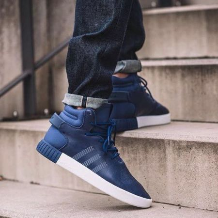 Мъжки Кецове ADIDAS Tubular Invader Sneakers 512109 S81793 изображение 8