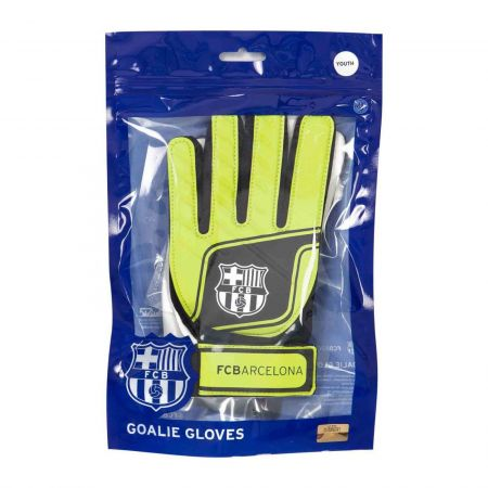 Вратарски Ръкавици BARCELONA Goalkeeper Gloves Flou 500808a 12125-d50gfyba изображение 6