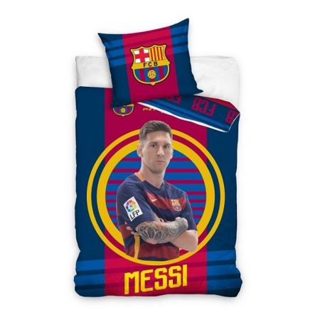 Спално Бельо BARCELONA Single Duvet Set Messi BE