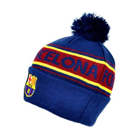 Зимна Шапка BARCELONA Text Cuff Knitted Hat 501466 9291-v40skibatx