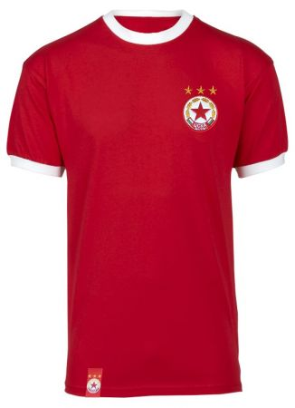 Детска Тениска CSKA Basic Crest Kids T-Shirt 503558
