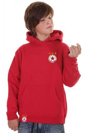 Детски Суичър CSKA Basic Logo Kids Hoodie 503561