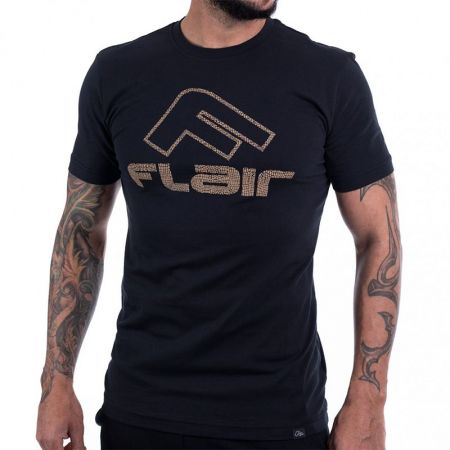 Мъжка Тениска FLAIR Gold Boost Logo T-Shirt 513630 176152