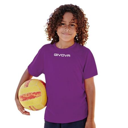 Детска Тениска GIVOVA Shirt One ML 0014 504643 MAC01