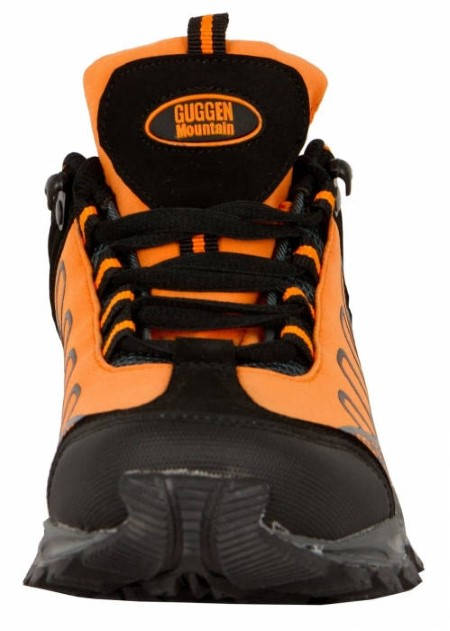 Дамски Туристически Обувки GUGGEN MOUNTAIN Hiking Boots Softshell Trekking Shoes 200894 T002-Orange изображение 5