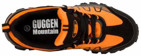 Дамски Туристически Обувки GUGGEN MOUNTAIN Hiking Boots Softshell Trekking Shoes 200894 T002-Orange изображение 8