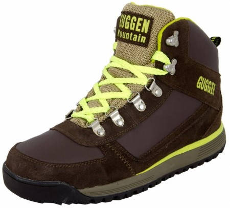 Мъжки Туристически Обувки GUGGEN MOUNTAIN Hiking Boots Trekking Shoes 101464a M010-Yellow изображение 3