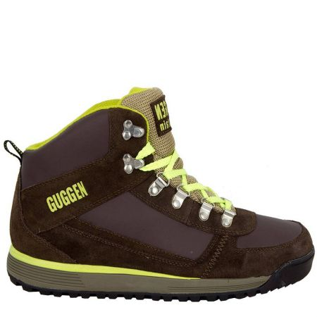 Мъжки Туристически Обувки GUGGEN MOUNTAIN Hiking Boots Trekking Shoes 101464a M010-Yellow
