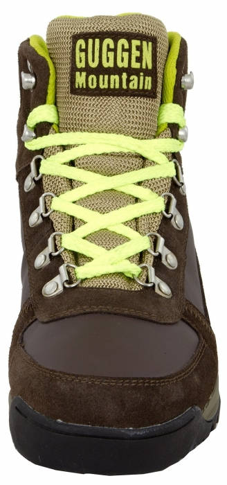 Мъжки Туристически Обувки GUGGEN MOUNTAIN Hiking Boots Trekking Shoes 101464a M010-Yellow изображение 5