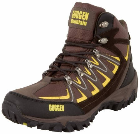 Мъжки Туристически Обувки GUGGEN MOUNTAIN Mountain Boots Trekkingshoes 101462 M009-Brown изображение 3