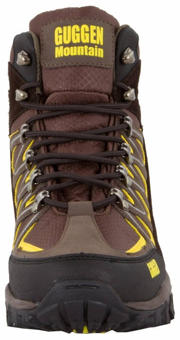 Мъжки Туристически Обувки GUGGEN MOUNTAIN Mountain Boots Trekkingshoes 101462 M009-Brown изображение 4
