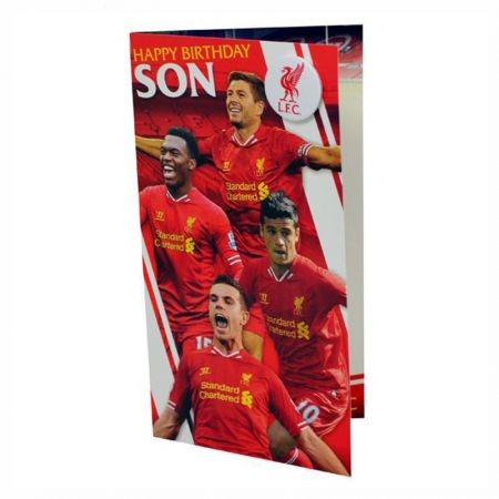 Картичка LIVERPOOL Birthday Card Son 500736b w14dablv-12721
